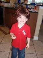How To Make Cancer Fun - Boy with Free Cancer Patient Wig