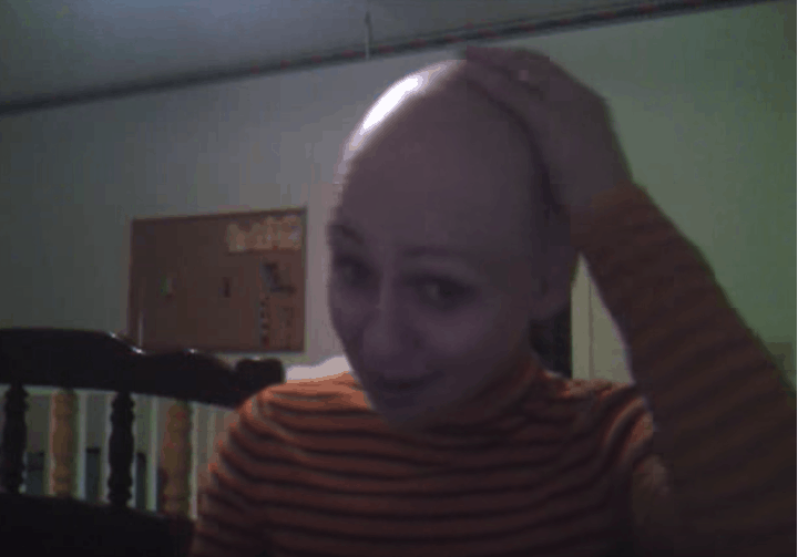 breast cancer blog post - shaving my head because of chemotherapy hair loss