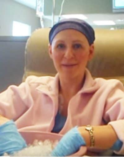 Last Chemo for Breast Cancer Patient