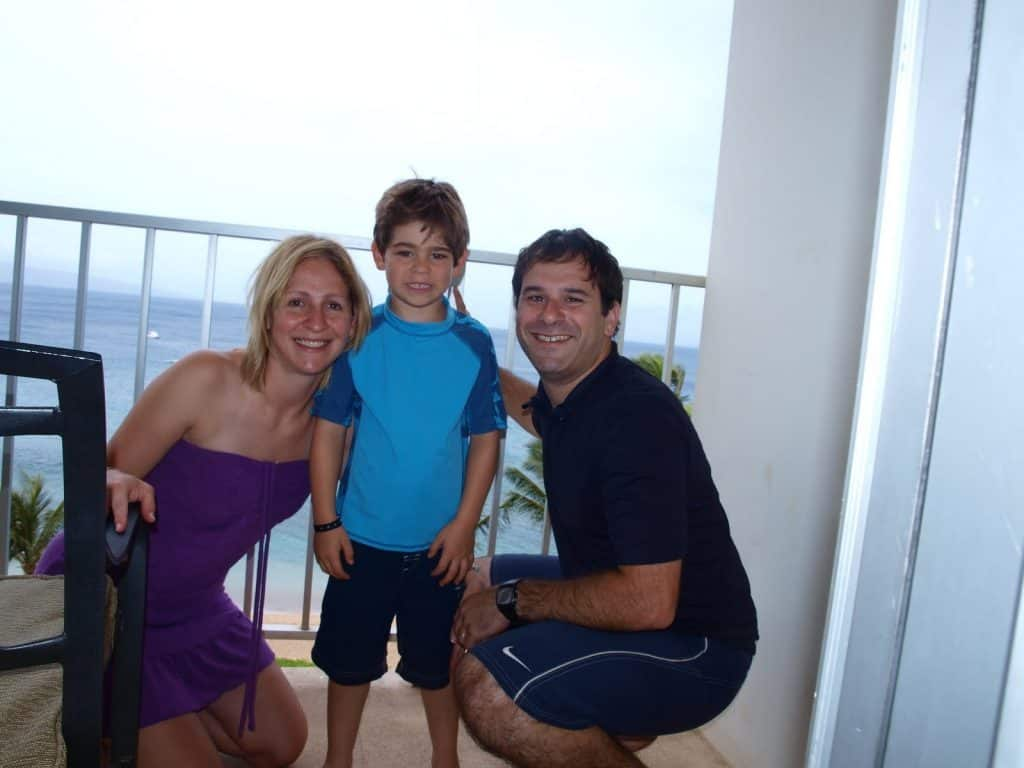 Westin Hotel in Ka'anipali - family vacation to hawaii after cancer diagnosis