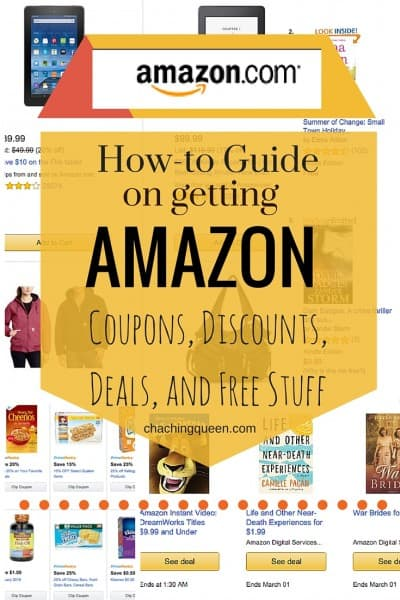 Amazon coupons discounts