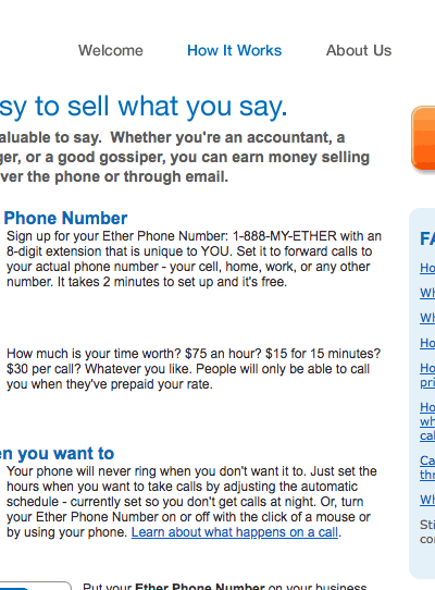 Sell what you say - free toll free number to sell your knowledge