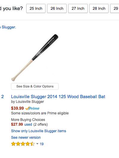 Discounts on Louisville Slugger Bats, Gloves, and Trainers