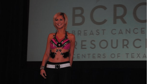 Young Breast Cancer Survivor - Art Bra Austin, Texas
