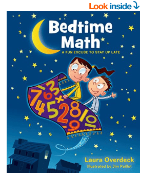Bedtime Math Book – Fun Math for Kids Book Review and Giveaway