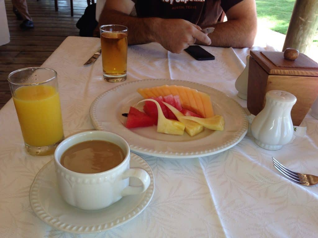 fruit breakfast excellence punta cana