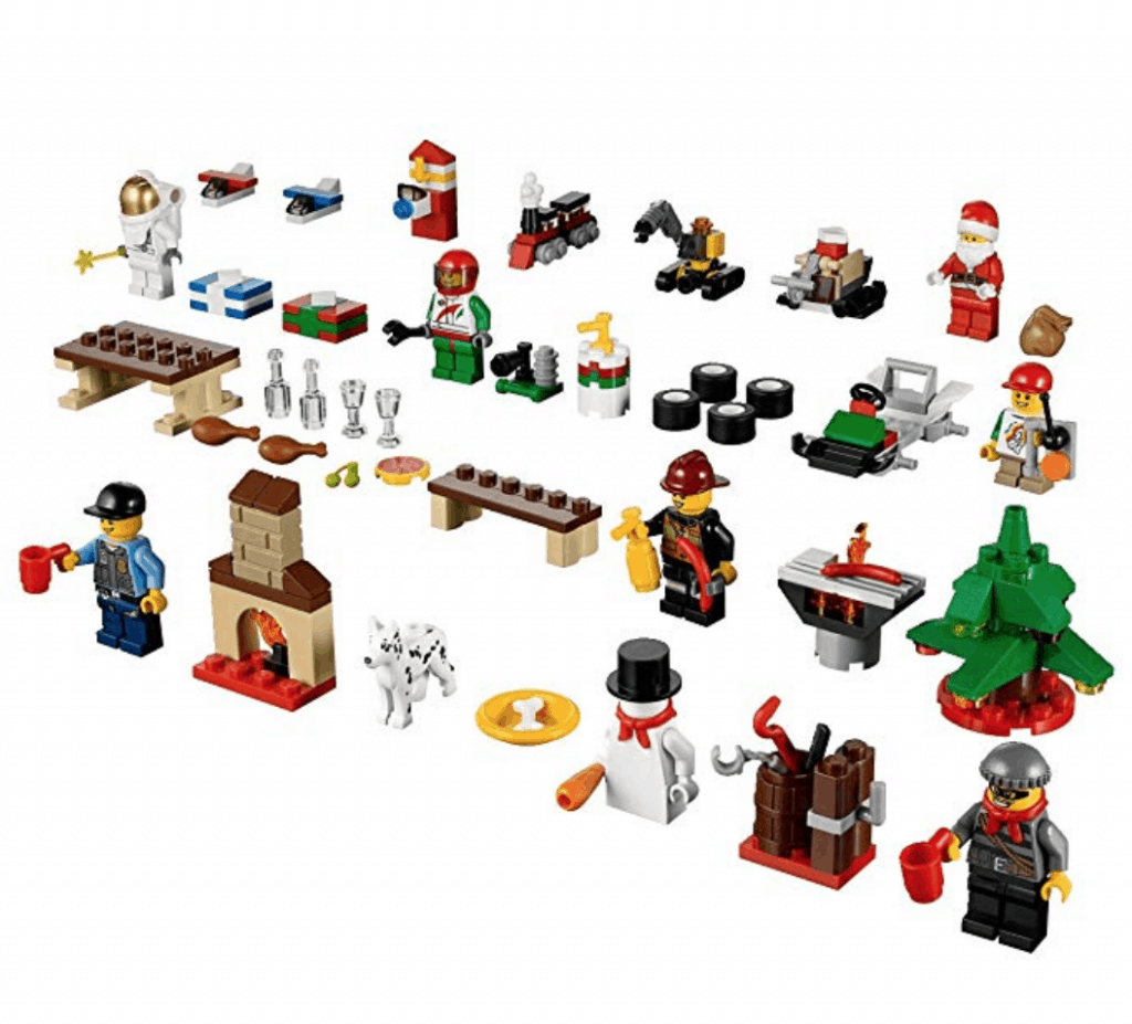 Are you looking for a LEGO Advent calendar? I found the discontinued LEGO City Advent Calendar!