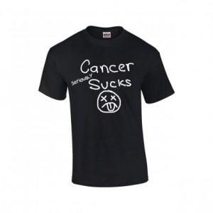 CANCER SERIOUSLY SUCKS T-SHIRT