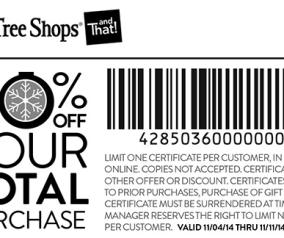 christmas tree shops printable coupons 8093 november 2014 284x238png - Christmas Tree Shop Printable Coupon