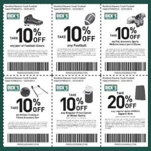 Dicks Sporting Goods Printable Coupons – Online and Printable Coupons