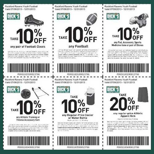 Dick sporting goods coupon code
