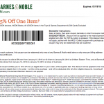barnes and noble january 2015 printable coupon code 15 percent off