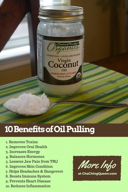 10 Benefits of Oil Pulling with Coconut Oil
