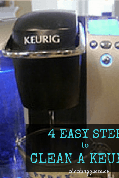4 Easy Steps - How to Clean Your Keurig
