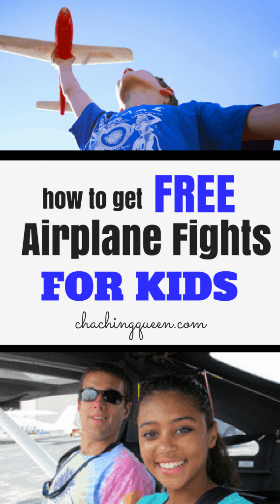 Free Airplane Flights for Kids - EAA Young Eagles Program Gives Free Flights for Kids