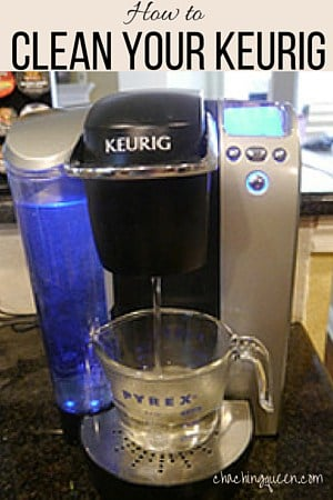 How to Clean Your Keurig- Easy and Fast Cleaning with Vinegar
