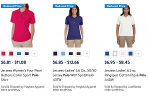 Walmart Deal - Women's Essential Polos