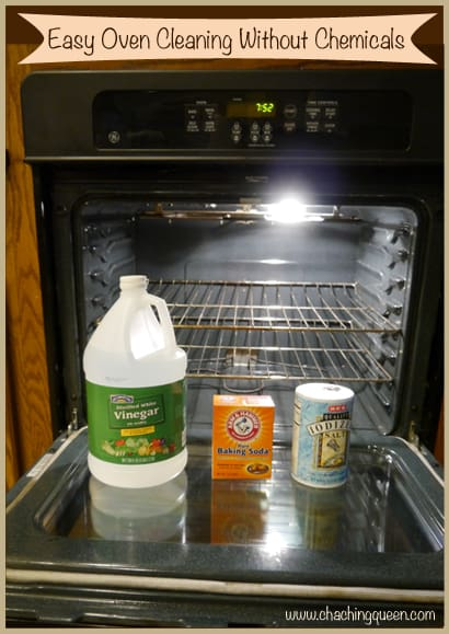 Natural oven cleaner how to clean oven with vinegar and How to clean top of oven