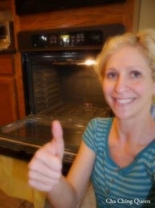 happy mama clean oven without chemicals