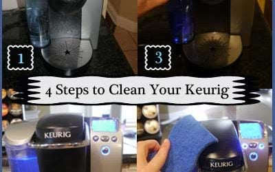 how to clean your keurig coffee maker with vinegar quick easy from cha ching queen