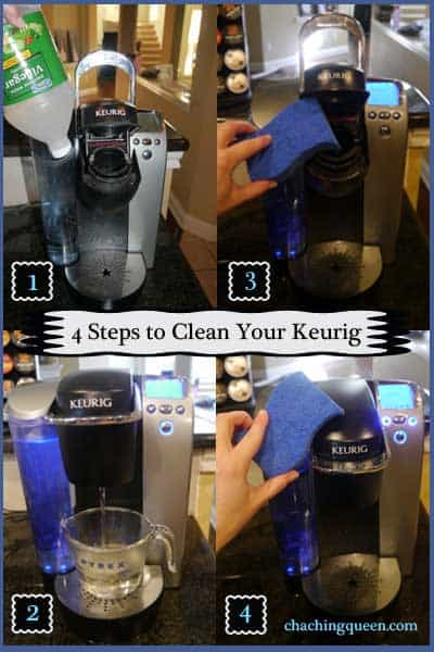 Easy Way To Clean A Coffee Maker : How to Clean Your Keurig - Easy and Quick - Cha Ching Queen