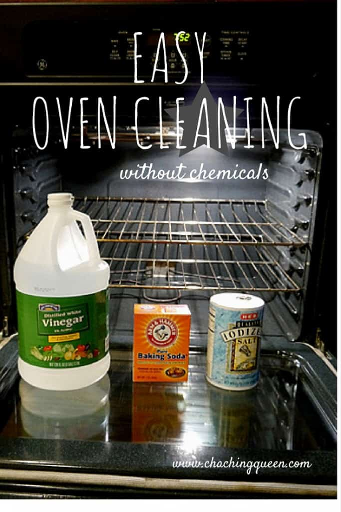 how to clean your oven without chemicals - clean your oven with vinegar and baking soda