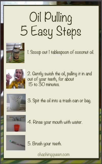 oil pulling 5 easy steps how to pull oil