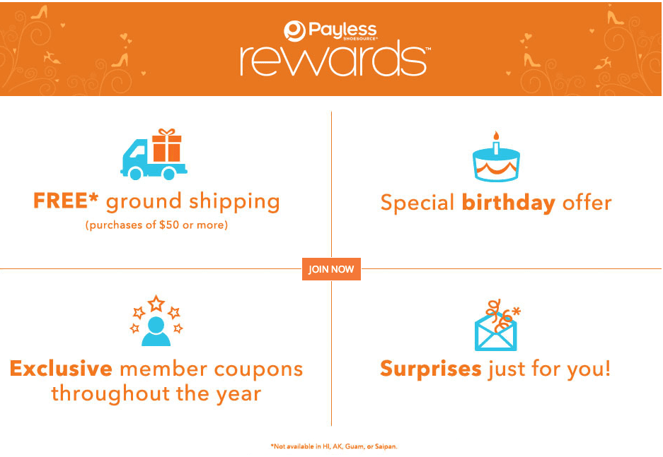 payless rewards member information deals coupons discounts