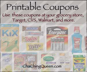 Printable grocery coupons free