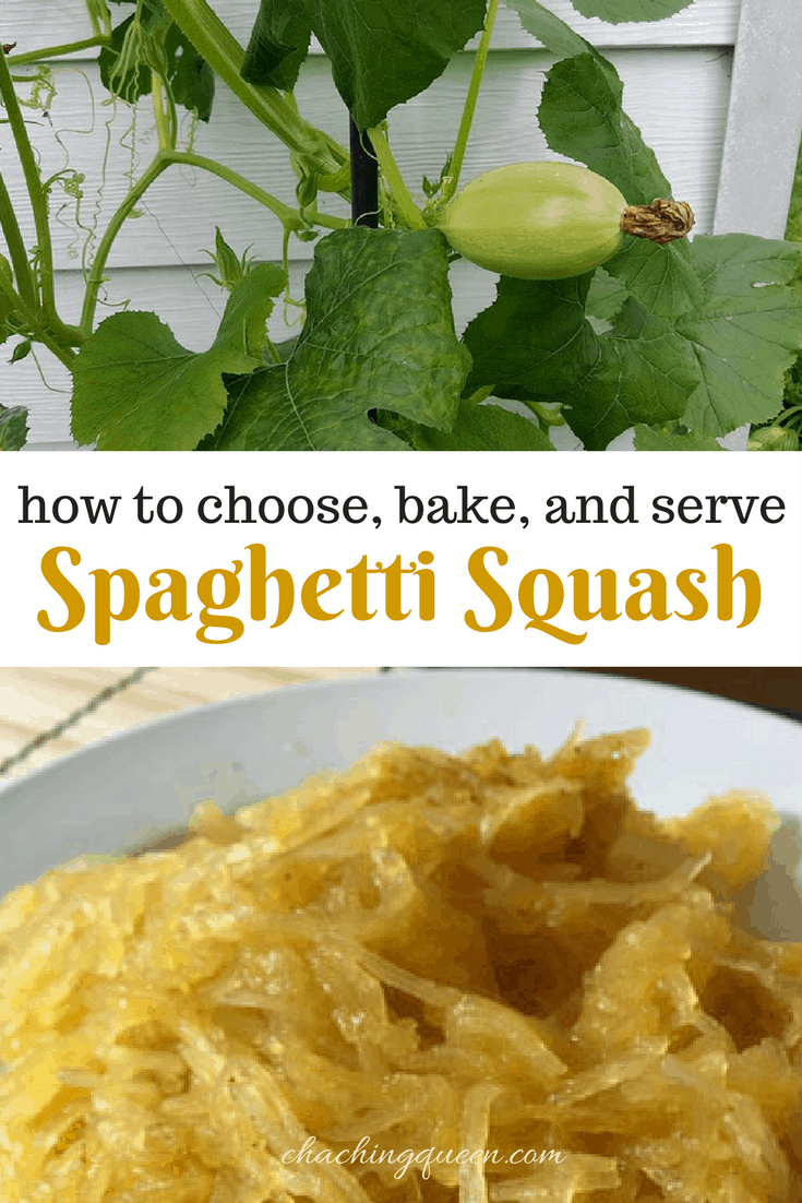 How to choose, bake, and serve Spaghetti Squash - Recipe