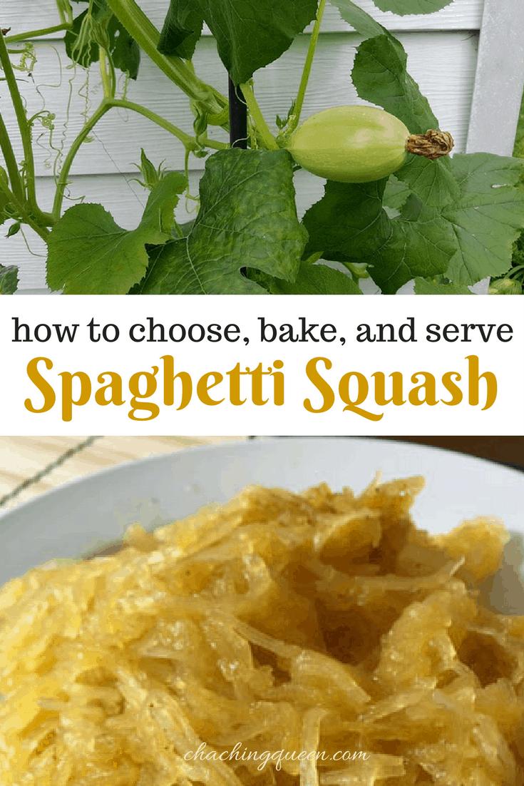 How to choose, bake, and serve Spaghetti Squash - Recipe