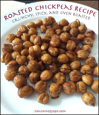 Roasted Chickpeas Recipe – Crunchy, Spicy, and Oven Roasted