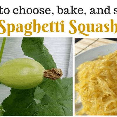 Recipe: How to Make Spaghetti Squash, Healthy Gluten-Free Paleo Alternative to Pasta