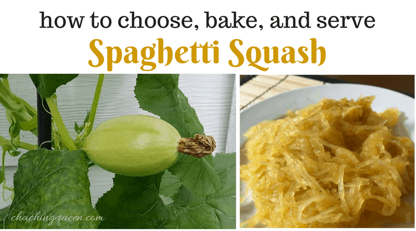 how to bake spaghetti squash and spaghetti squash recipes