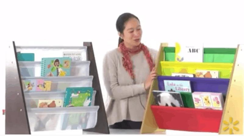 teacher Gift Idea - Tot Tutors Book Rack on Sale - Walmart discount