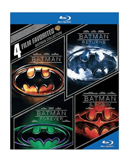 Blu-Ray Batman Collection Amazing Deal! (Batman / Batman Returns / Batman Forever / Batman & Robin)