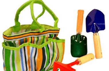 Discount: Kids Garden Tool Set with Tote