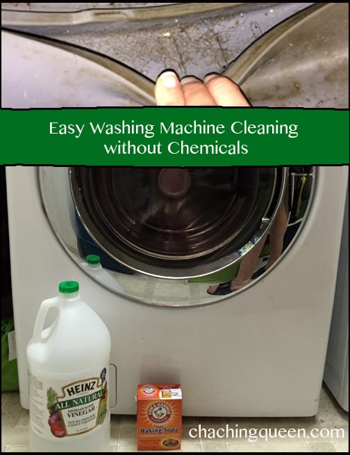 How to Clean Washing Machines - Vinegar and Baking Soda