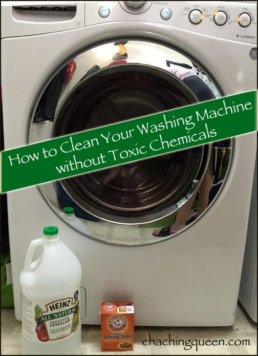 How to clean washing machine vinegar and baking soda to get rid of washing machine odor and smells
