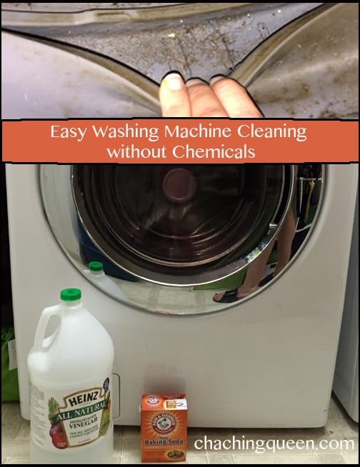 Easily Clean Your Washing Machine without Chemicals - Easy cleaning with vinegar and water