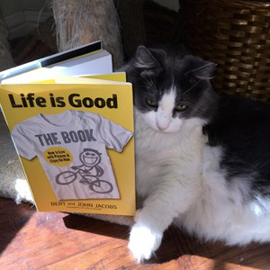 live-is-good-calvin-cat-reads-book