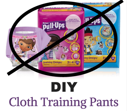 DIY Pull Ups - How to Make Cloth Training Pants