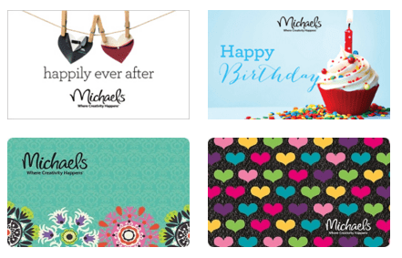 Michaels Gift Cards 20% off - Cha Ching Queen
