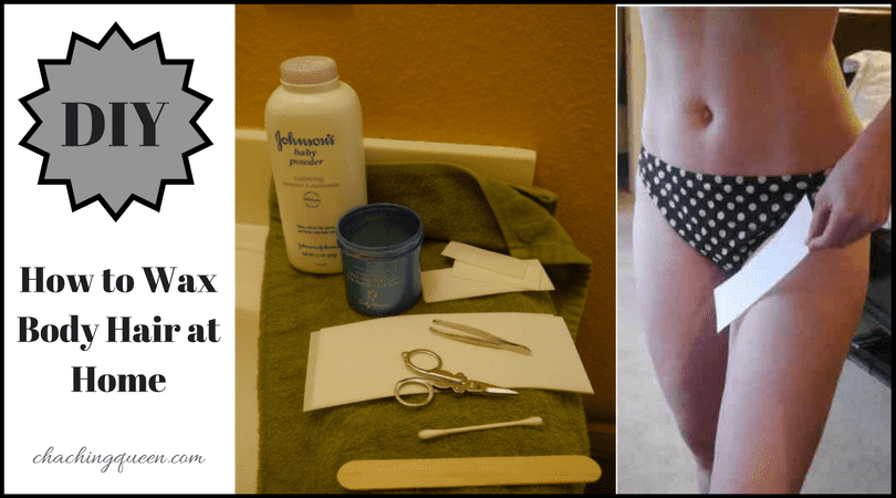 How to do a bikini wax yourself