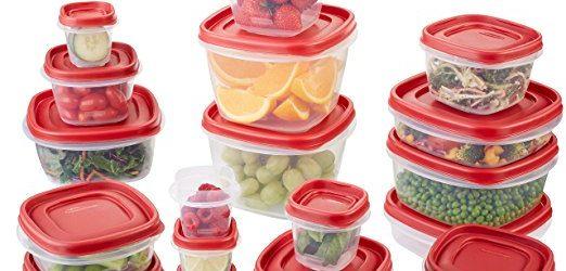 Deal on Rubbermaid 42-Piece Easy Find Lid Food Storage Set