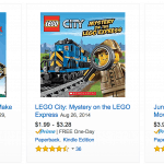 LEGO Books Discounted as low as $3.23 Shipped