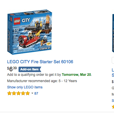 LEGO Deals – Stock up on Lego Sets Under $10