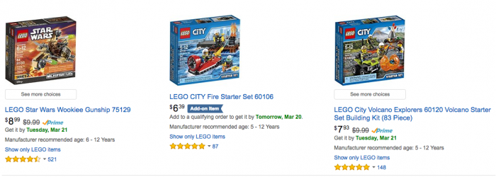 LEGO Deals - LEGO Sets Under $10