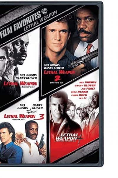Lethal Weapon 1, 2, 3, and 4 DVD Set Deal (free shipping)