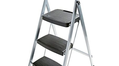 Rubbermaid 3-Step Steel Frame Stool with Hand Grip Discounted 50 Off - Now $42 shipped